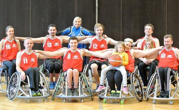 Tiroler Rollstuhlbasketballer sichern sich Meistertitel in der deutschen Regionalliga