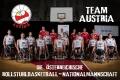 Fotoshooting mit dem Team Austria